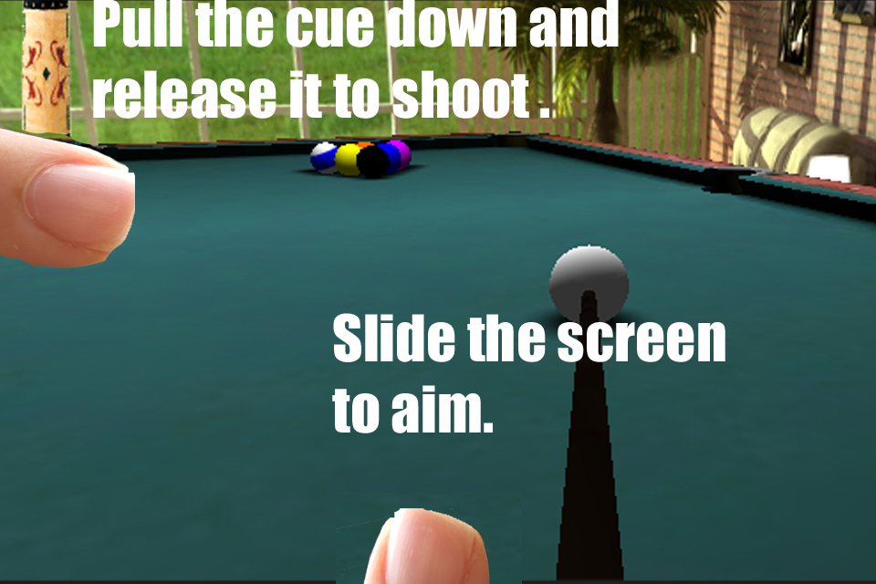Screenshot Pool 3d Simulator