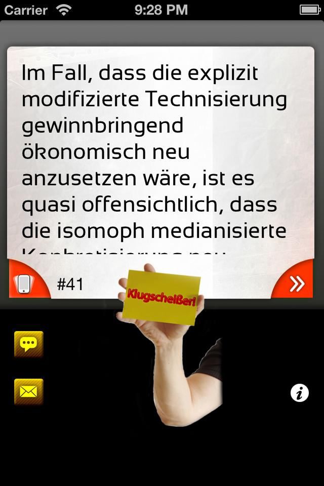 App Shopper: Klugscheißer Sprüche Lite (Entertainment)